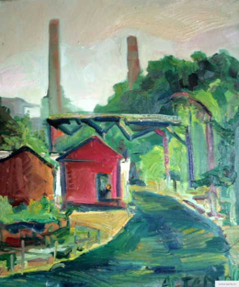 """Industrial Zone"" painting picture / photo earta.ru"