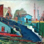"""Garages"" painting picture / photoГаражи электросталь Е.Арт earta.ru"