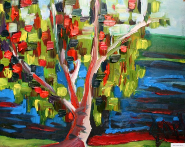 """Tree"" painting picture / photo earta.ru"