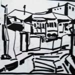 EARTA.ru Картины Наброски Зарисовки дворик-питер-150x150 Пейзаж