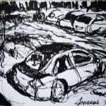EARTA.ru Картины Наброски Зарисовки двор2-150x150 Пейзаж