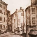 EARTA.ru Картины Наброски Зарисовки колодец-150x150 Карандаш