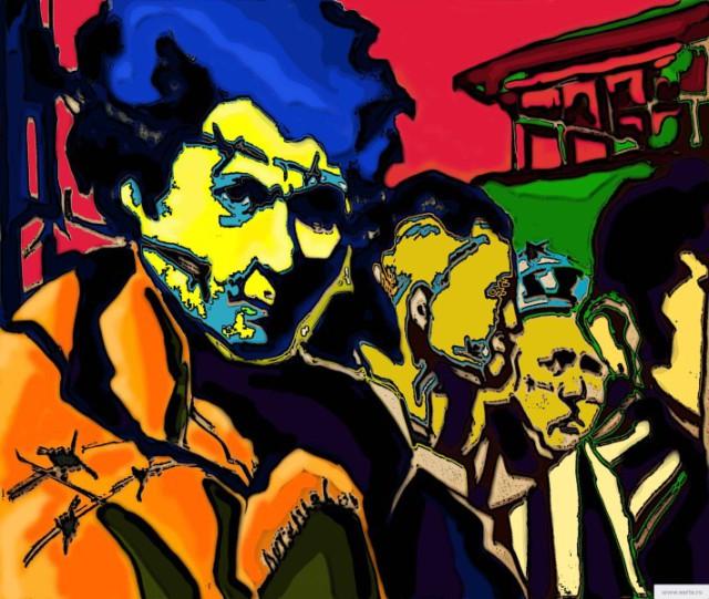 Заключенные earta.ru рисунок/набросок/фото/ drawing / sketch / photo