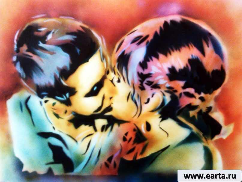 EARTA.ru Картины Наброски Зарисовки маша Портрет пары Uncategorized