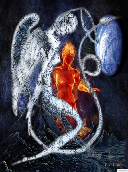 the image of the virgin ice and fire earta.ru drawing / sketch / photo