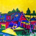 EARTA.ru Картины Наброски Зарисовки пейзаж-в-поселке-150x150 Пейзаж