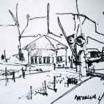 EARTA.ru Картины Наброски Зарисовки переезд-150x150 Пейзаж