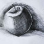 EARTA.ru Картины Наброски Зарисовки яблоко-150x150 Карандаш