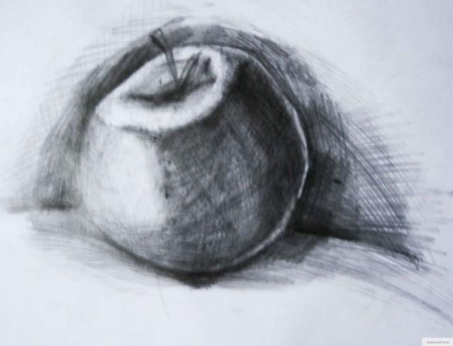 Яблоко рисунок/фото