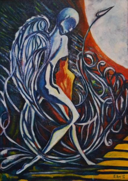 """Картина """"Ангел и Демон"""""""