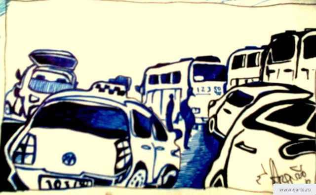 Автовокзал Ногинск рисунок/фото