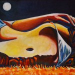 живопись маслом на холсте художник Евгений Артемьев Электросталь