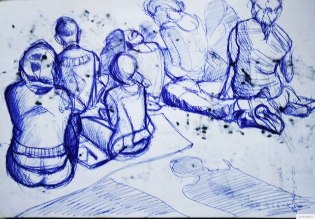 Lecture Forum Seliger earta.ru drawing / sketch / photo