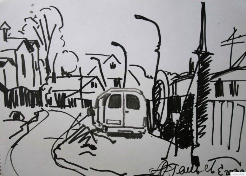 priparkovany minibus picture / photo