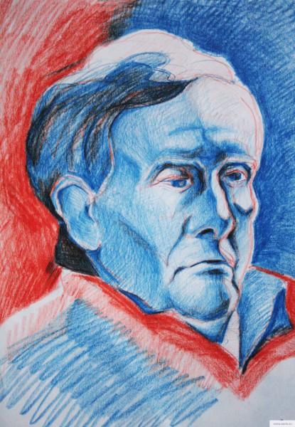 портрет старика 3 электросталь рисунок/фото