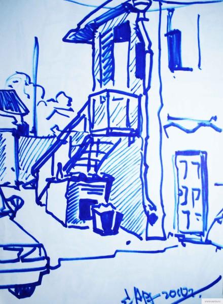 Kirzhach auto repair sketch drawing / photo