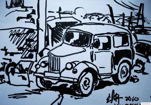 Автомобиль БУ рисунок/фото