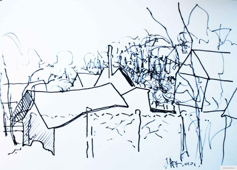 outbuildings sketch drawing / photo