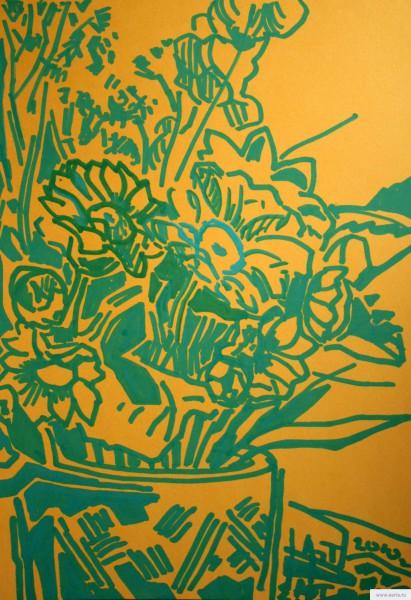 Цветы рисунок/фото