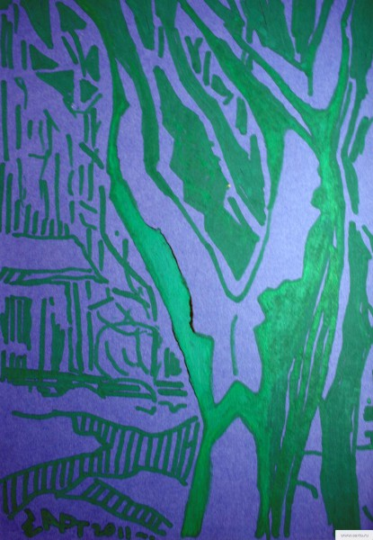 feminine tree sketch drawing / photo