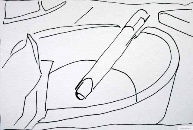 сигарета рисунок/фото