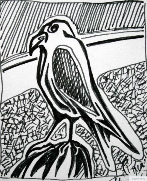 орел рисунок/фото