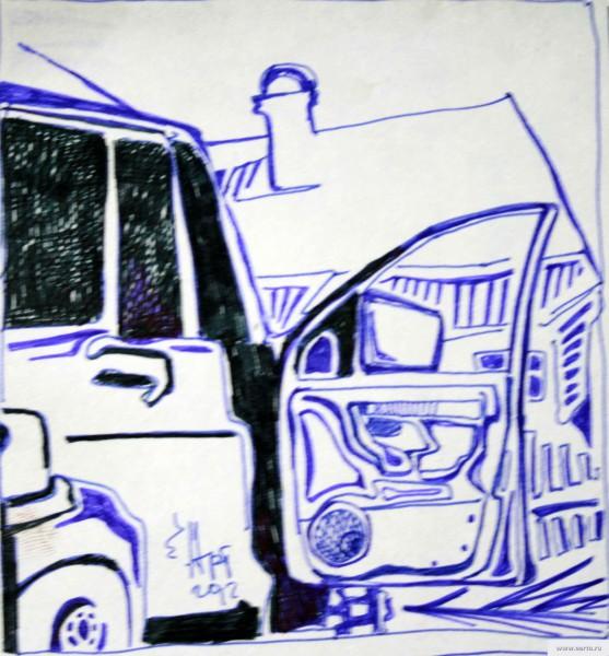 UAZ Patriot door earta.ru drawing / sketch / photo