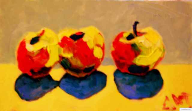 """Apples"" painting picture / photo earta.ru"
