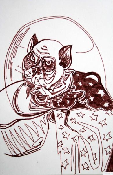 Пришелец Мерлин рисунок/фото