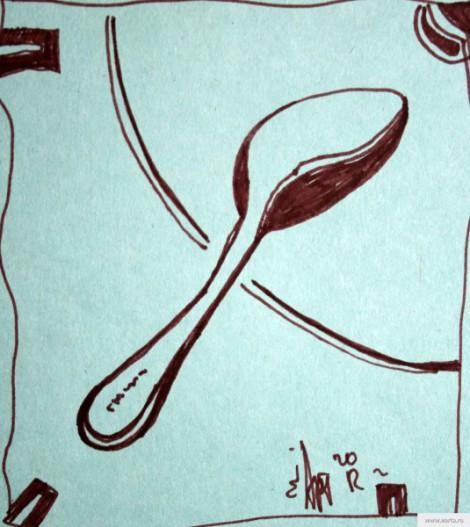 Время обеда рисунок/фото