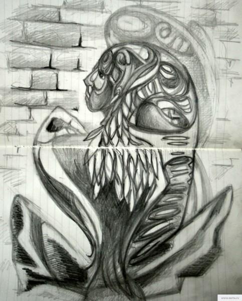 Майя рисунок/фото
