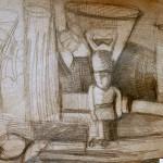 EARTA.ru Картины Наброски Зарисовки IMG_7967-150x150 Карандаш
