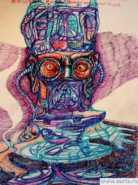 безумный доктор earta.ru рисунок / набросок / фото